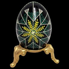 Old World Easter Egg  Polish Folk Art
