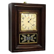 Telechron Miniature OG Wall or Shelf Clock Runs and Keeps Time