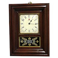 Miniature American OG Wall Clock Runs and Keeps Time