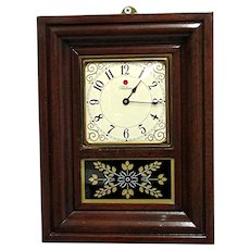 Miniature American OG Wall Clock Runs and Keeps Time