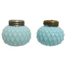 Salt and Pepper Shakers American Glass Circa 1896-1910 Consolidated Lamp and Glass Co.