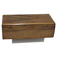 Civil War Era Wood Document Box