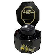 Miniature Dobbs Hat Box with Fedora Sample