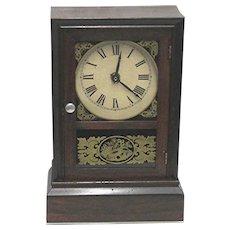 Antique American Mantel Clock Atkins Clock Co.
