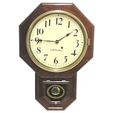 Antique Seth Thomas Rosewood Wall Clock Restored to Original Condition
