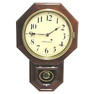 Seth Thomas Rosewood Wall Clock Restored to Original Condition