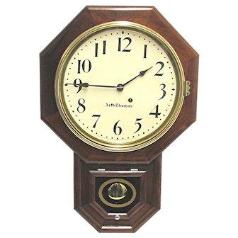 Seth Thomas Rosewood Wall Clock
