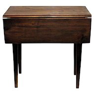 Drop Leaf Table Unusual Small Size Perfect for Side or End Table