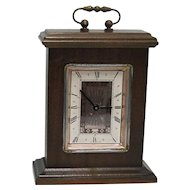 Mantel Clock Miniature Bracket Clock Runs and Keeps Time
