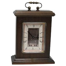 Mantel Clock Miniature Bracket Clock Runs and Keeps Time
