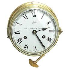 Schatz Ships Bell Clock