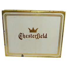 Chesterfield Flat Fifty Cigarette Pocket Tin