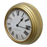 Standard Electric Slave Wall Clock Keeps Time