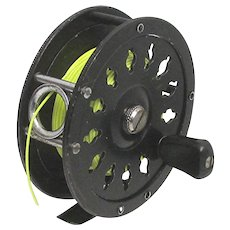 Bristol #65 Fly Fishing Reel with New Fly Line