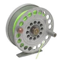 English Fly Fishing Reel with New Fly Line