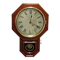 Seth Thomas Antique Wall Clock 100% Original and Fully Restored