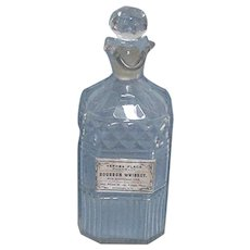 Apothecary Lead Crystal Shelf Bottle
