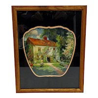 Advertising Fan Framed  Home Sweet Home 1929