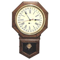 Ingraham Calendar Wall Clock