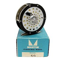 Fly Fishing Reel Unused with Original Box Martin Number 66