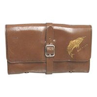 Unused Leather Fly Fishing Wallet