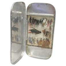 Fly Box with 23 Flies