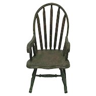 Windsor Rocker for Doll or Teddy Bear Childs Toy Chair