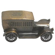 1917 Pierce Arrow Banthrico Die Cast Car Savings Bank