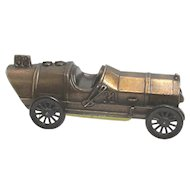 1911 Marmon Wasp #32 Race Car Banthrico Cast Metal Bank