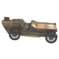 SOLD Sept. 2019 1911 Marmon Wasp #32 Race Car Banthrico Cast Metal Bank