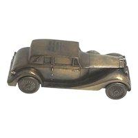 1937 Rolls Royce Car Savings Bank by Banthrico