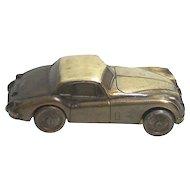 1955 Jaguar Automobile Car Savings Bank by Banthrico of Chicago