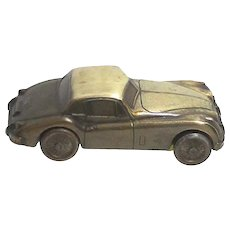 1955 Jaguar Automobile Car Savings Bank by Banthrico of Chicago