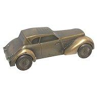 1936  CORD Automobile Cast Metal Car Bank