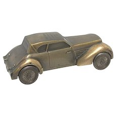 1936  CORD Automobile Cast Metal Car Bank