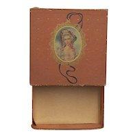 French Victorian Handkerchief Box for Hankies or Hankys