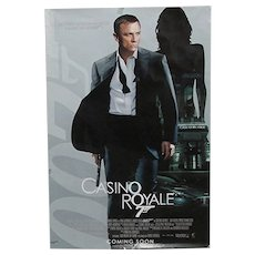 Movie Poster Full Size James Bond Casino Royale