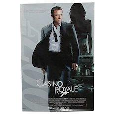 Movie Poster Original Full Size James Bond Casino Royale