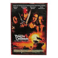 50% OFF Pirates of the Caribbean Full Size Original Movie Poster