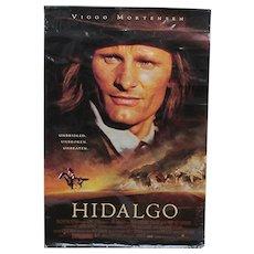 SOLD  October 2020    Hidalgo Original Movie Poster Full Size
