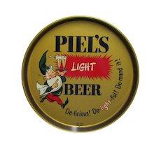 SOLD Nov 2019 Advertising Beer Tray Piels Light Beer