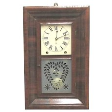 Ansonia Brass Co. Antique Wall Clock