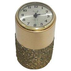 SOLD  Nov. 2019  Bulova Desk Clock with Alarm