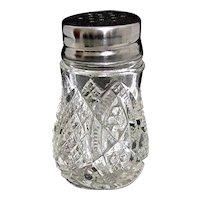 Glass Salt or Pepper Shaker Crystal by Duncan and Miller