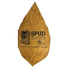 SPUD Cigarette Advertising Promotional Sewing Needles or Mending Kit