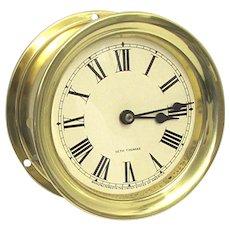 Ships Clock Seth Thomas Timepiece