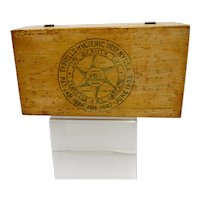 Medical Advertising Wood Box Tyrrells JBL Cascade