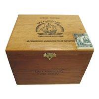 Las Cabrillas Advertising Cigar Box  Store Retail Display