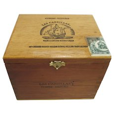 Las Cabrillas Advertising Cigar Box  Store Retail Display