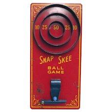 Marble Game  Snap Skee Ball Game
